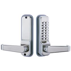 <b>Codelocks CL415</b> Tubular Mortice Latch with Code Free Option
