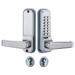 <b>Codelocks CL425</b> Mortice Lock with Cylinder and Anti Panic safety Function and Code Free