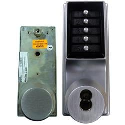 <b>Kaba Simplex/Unican 1041 Series</b> Mortice Latch Digital Lock with Passage and Key Override