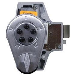 <b>Kaba Simplex/Unican 938 Series</b> Rim Deadlatch Digital Lock with Key Bypass