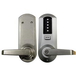 <b>Kaba Simplex/Unican 5041 Series</b> Mortice Deadlatch Digital Lock with Key Override and Passage